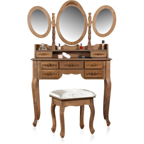Dressing table style, material and finish