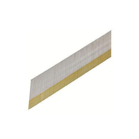 Boîte 2000 Pointes de finition DA 63.5 mm acier clair AERFAST - 108030