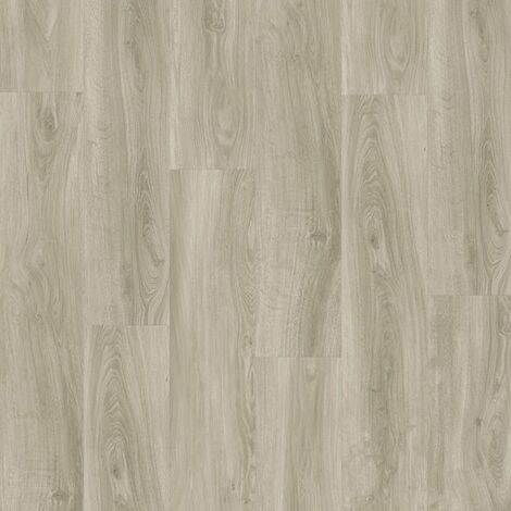 Boite 7 lames PVC clipsables - 1211x190,5mm - 1,61 m² - Starfloor Click 55 ENGLISH OAK GREY BEIGE - TARKETT