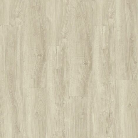 Boite 7 lames PVC clipsables - 1211x190,5mm - 1,61 m² - Starfloor Click 55 ENGLISH OAK Light Beige - TARKETT