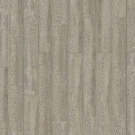 Boite 9 lames PVC clipsables - 1222x183mm - 2 m² - Starfloor Click 30 SMOKED OAK LIGHT GREY - TARKETT
