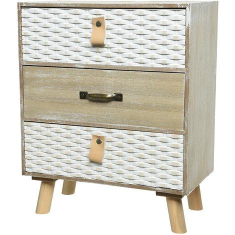 Boîte à bijoux 3 tiroirs - Nos Envies Déco