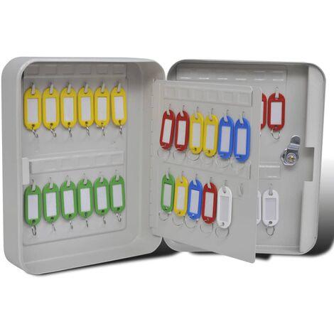 Boîte à clés avec 48 étiquettes à clés