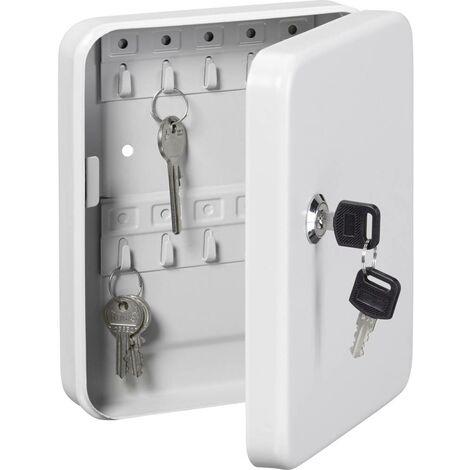 Boîte à clés Burg Wächter FAVOR KC 20 35860 Nombre de crochets: 20 blanc 1 pc(s)