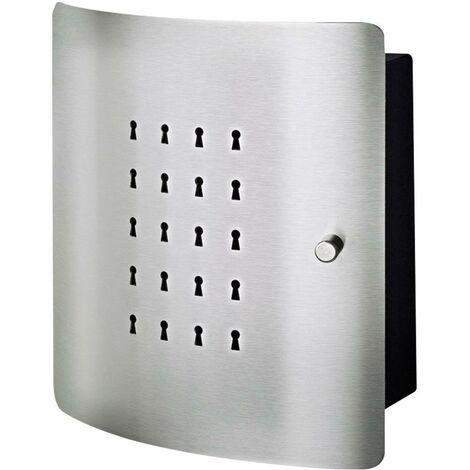 Boîte à clés Burg Wächter SLOT 6220/10 Ni 33530 Nombre de crochets: 10 acier inoxydable, noir 1 pc(s)