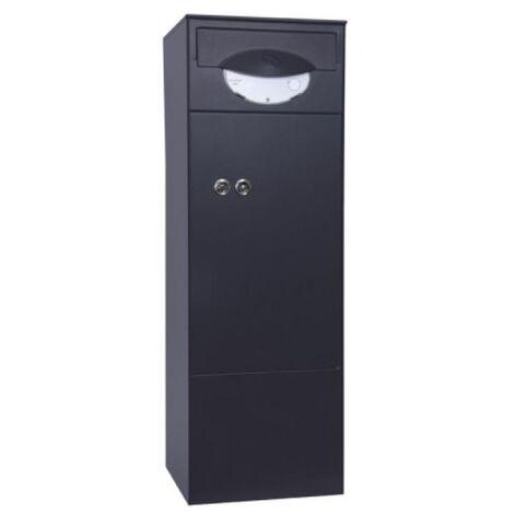 Boîte à colis type @Box 950 gris 7016