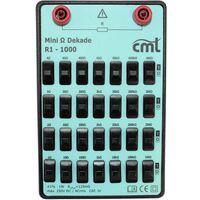 Boîte à décades Cosinus R1-1000 1 Ω - 11.11111 M Ω 250 V