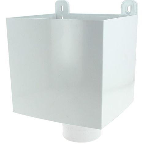 Boîte a eau tube e.p. O80 blanc