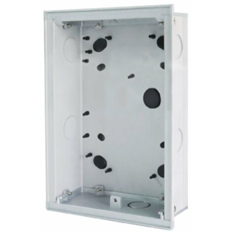 Boite à encastrer 2 modules pour bouton-pussoir abb 41022F