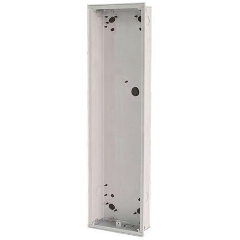Boite à encastrer 6 module pour bouton-pussoir abb 41026F