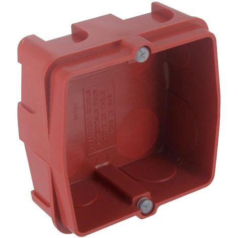Boîte à encastrer Batibox maçonnerie pour prise 20/32A - profondeur 40mm