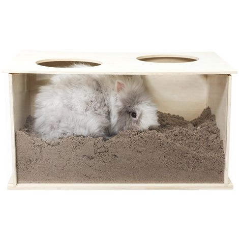 Boite a fouiner pour lapins - 58x30x38cm Trixie