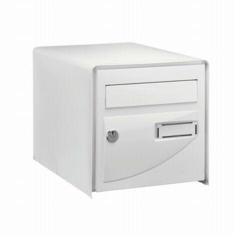 Boite à lettres Probat Blanche double face DECAYEUX - Code clé 7 - 125981