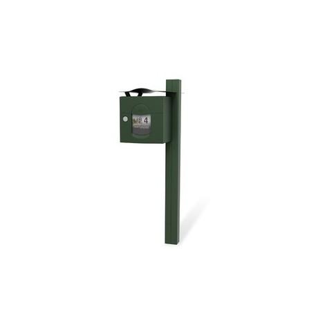 Jeune Boîte à lettres Solea RENZ - 1 porte - 285 x 285 x 400 mm - vert TN-27