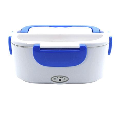 Boite A Lunch Electrique Portative Multifonctionnelle De Chauffage, Bleu