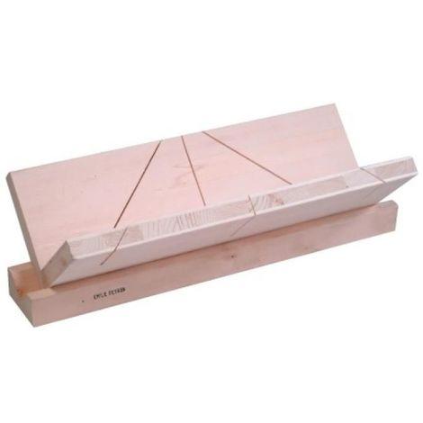 Boîte à onglets pour corniches longueur 450 mm