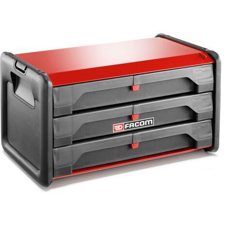 bo te outils bi mati re 3 tiroirs facom bt203pb. Black Bedroom Furniture Sets. Home Design Ideas