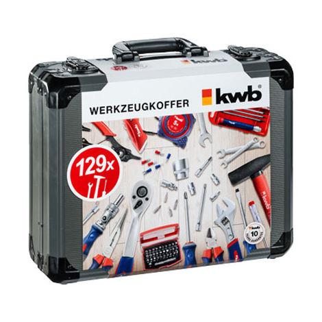 Boîte à outils complète 129 pcs Einhell KWB 370780