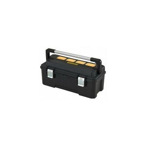 Boîte a outils fatmax etanche cantilever dimensions 520 x 280 x h 300 mm / 6 godets amovibles
