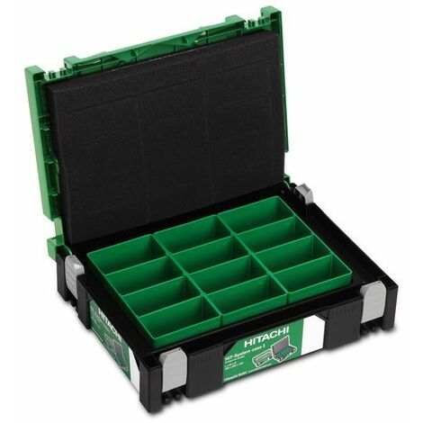 HiKOKI HIK-System Case I, y compris 3 boîtes - 402538