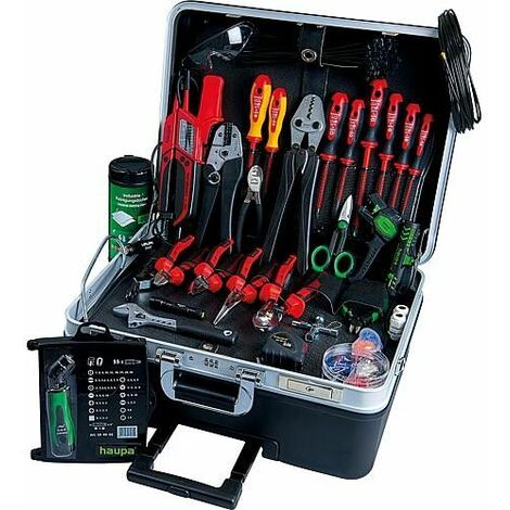 boite a outils Master mobile, 1000V, 38 pièces 470x220x360mm