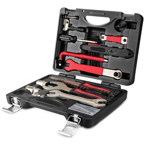 Boite A Outils Multifonctionnelle Coffret A Outils De Reparation De Velo Portable