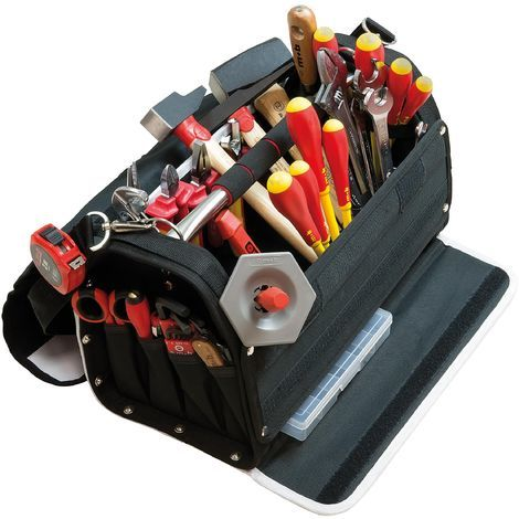 Boite à outils textile 47 pièces Électricien - Mob/mondelin
