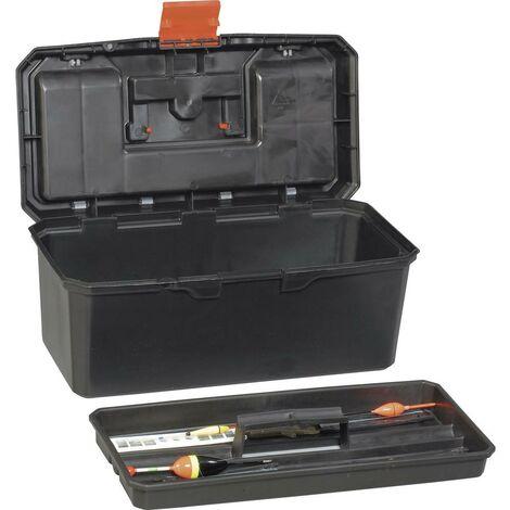 Boîte à outils vide Alutec 56260 plastique noir, orange 1 pc(s)