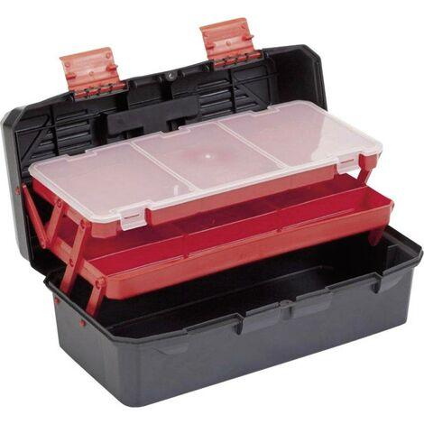 Boîte à outils vide Alutec 56300 plastique noir, orange 1 pc(s)