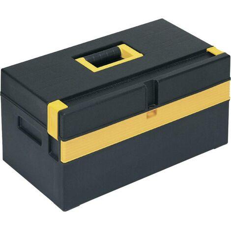 Boîte à outils vide Alutec 56560 plastique noir, jaune 1 pc(s)