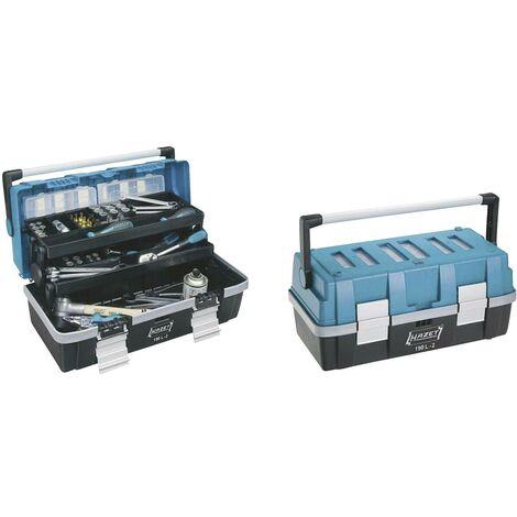 Boîte à outils vide Hazet 190L-2 plastique noir, bleu, argent 1 pc(s) C79976