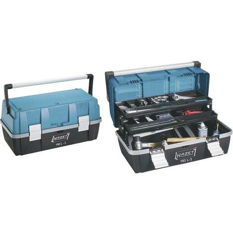 Boîte à outils vide Hazet 190L-3 plastique noir, bleu, argent 1 pc(s) C79970