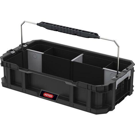 bo te outils vide keter 237897 connect caddy noir 1 pc s. Black Bedroom Furniture Sets. Home Design Ideas