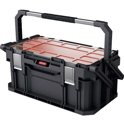 Boîte à outils vide KETER 238275 Connect noir 1 pc(s)