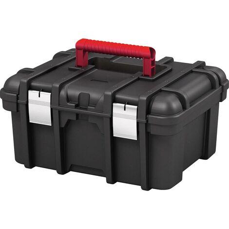 bo te outils vide keter 238279 wide noir 1 pc s. Black Bedroom Furniture Sets. Home Design Ideas