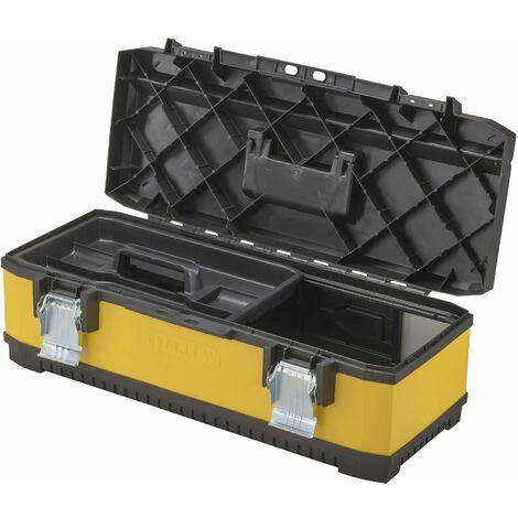 Boîte à outils vide Stanley by Black & Decker 1-95-612 noir, jaune 1 pc(s) D899961