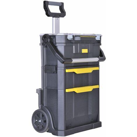 Boîte à outils vide Stanley by Black & Decker STST1-79231 plastique noir, jaune 1 pc(s)