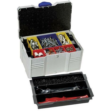 Boîte à outils vide Tanos MINI-systainer® T-Loc III 80590830 plastique ABS, Polystyrène (l x H x P) 265 x 142 x 171 mm