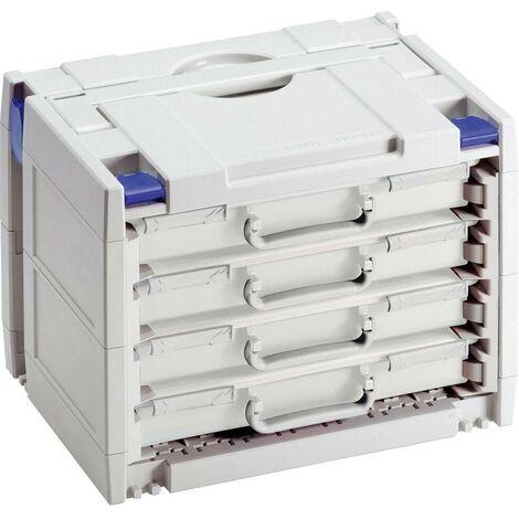 Boîte à outils vide Tanos Rack-systainer IV 80590041 plastique, ABS (L x l x h) 400 x 300 x 315 mm 1 pc(s)