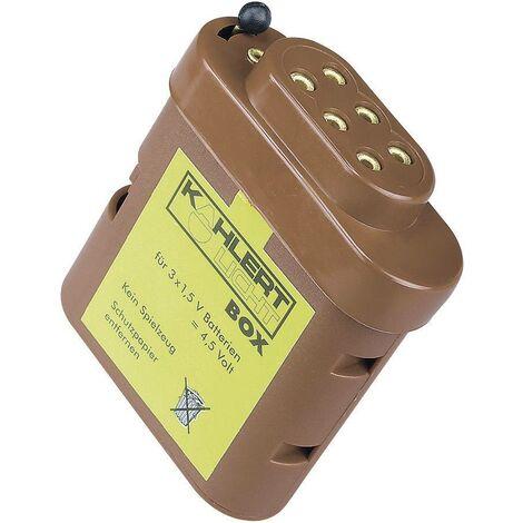Boîte à piles avec douille de connexion A11140