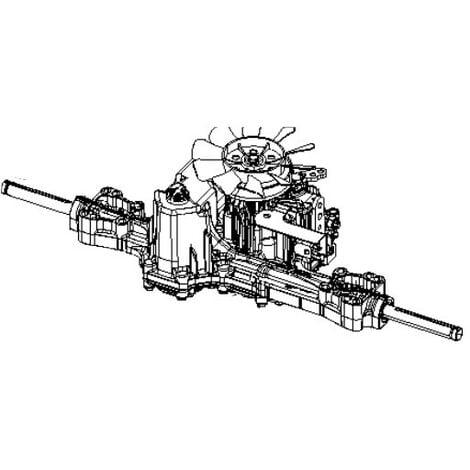 Boite a vitesse tracteur tondeuse Husqvarna