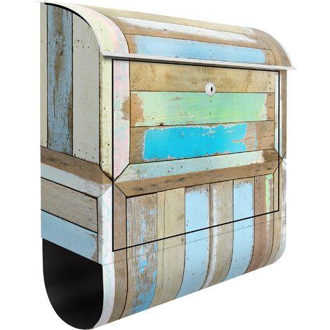 Boîte aux lettres bois rustique - Dimension: 46cm x 39cm