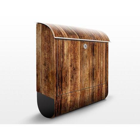 Boîte aux lettres Cabane en bois - Dimension: 46cm x 39cm
