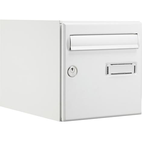 bo te aux lettres empilable double face blanc expert box. Black Bedroom Furniture Sets. Home Design Ideas