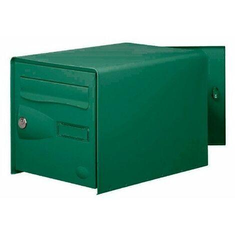 Boite aux lettres eolys double face vert ref.123524