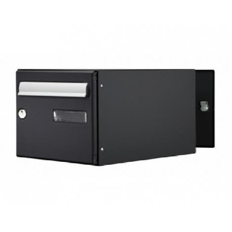 bo te aux lettres expert box double face noir mat. Black Bedroom Furniture Sets. Home Design Ideas