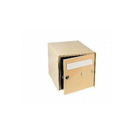 Boîte aux lettres inox Loft Inox - Decayeux