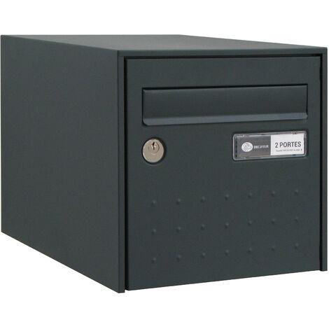 Boîte aux lettres simple face - Steel Box DECAYEUX