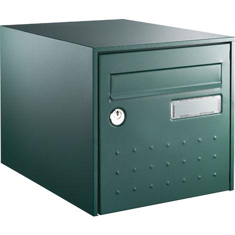 Boîte aux lettres STEELBOX SIMPLE FACE BLANC - DECAYEUX - Blanc