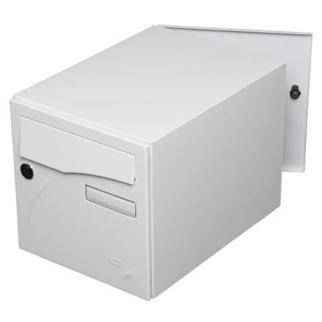 Boîte aux lettres type Préface New 2 faces coloris blanc brillant 9016